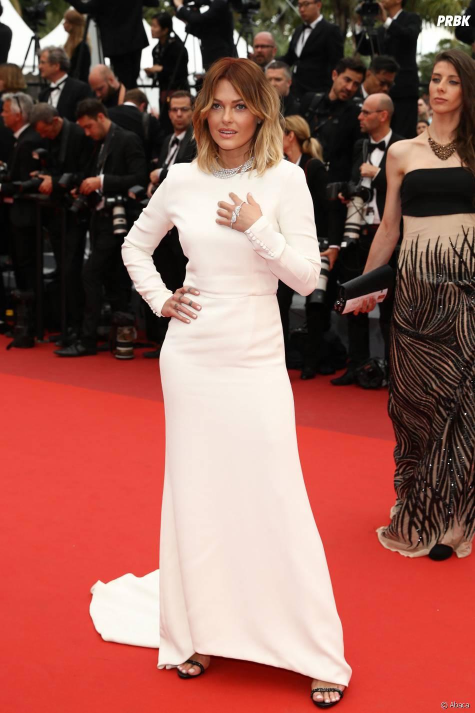 Caroline Receveur au Festival de Cannes 2016 le 13 mai pour la projection du film Ma Loute