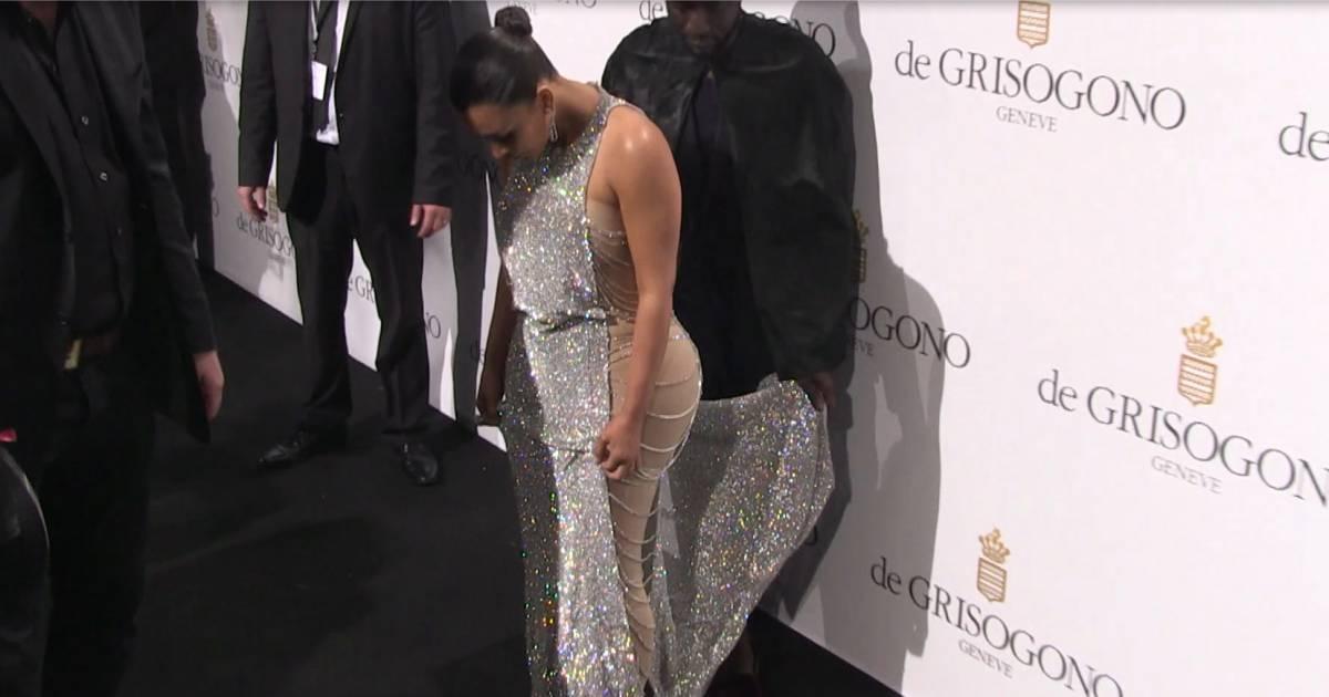Robe de soiree style kim kardashian