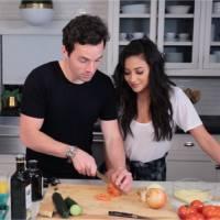 Shay Mitchell : la star de Pretty Little Liars recrute Ian Harding pour un tuto de cuisine