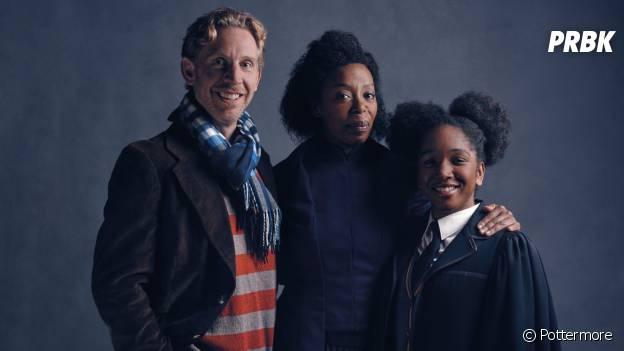 Harry Potter : Ron, Hermione et leur fille Rose dans la pièce de théâtre