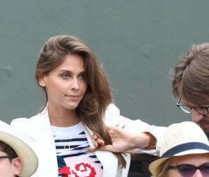 Ophélie Meunier à Roland Garros 2016 pour la finale dames le 4 juin 2016