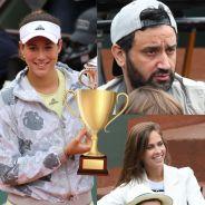 Ophélie Meunier, Cyril Hanouna... les VIP à Roland Garros 2016 pour la victoire de Garbine Muguruza