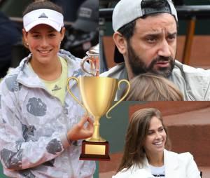 Ophélie Meunier, Cyril Hanouna... les stars à Roland Garros 2016 pour la finale dames le 4 juin 2016
