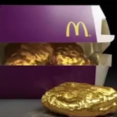 McDonald's fait gagner son premier nugget... en or !