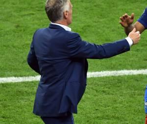 Dimitri Payet lors du match France - Roumanie (Euro 2016) le 10 juin