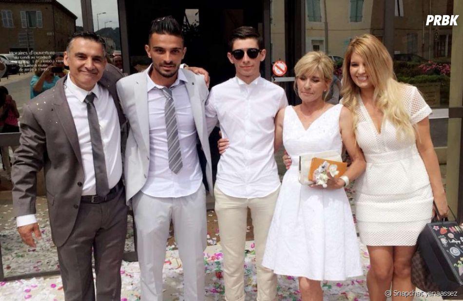 Julien Tanti au mariage de son père
