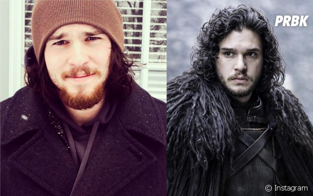 Kit Harington (Game of Thrones) : Josiah Martin, son sosie bluffant