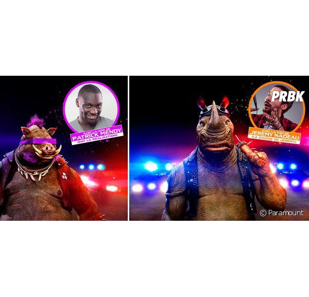 Ninja Turtles 2 : Jérémy Nadeau et Patrick Mendy en interview