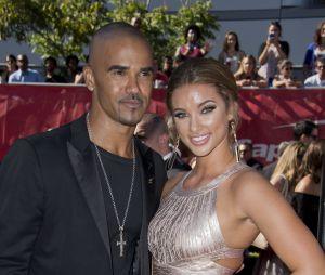 Shemar Moore et sa copine Shawna Gordon en 2015