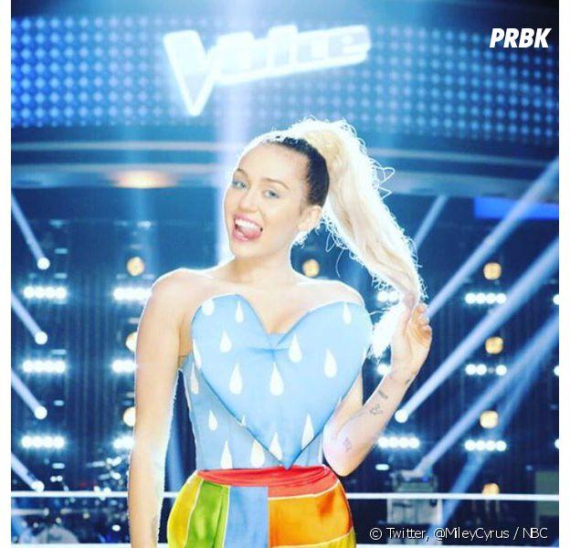 Miley Cyrus débarque en tant que juge dans The Voice US