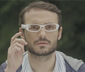 Jérôme Niel et Adrien Ménielle dans le court-métrage Up'Life