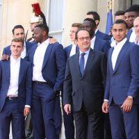 Antoine Griezmann, Hugo Lloris... : les Bleus reçus par François Hollande à l'Elysée