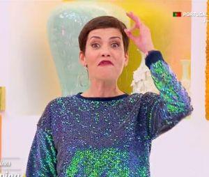 """Cristina Cordula clashe une candidate des Reines du Shopping sur son maquillage et ses sourcils : """"C'est la catastrophe"""""""
