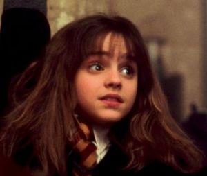 Emma Watson dans Harry Potter à l'école des sorciers en 2001