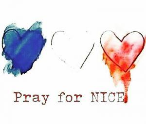 Hugo Lloris et sa femme à Nice pour la minute de silence le 18 juillet 2016