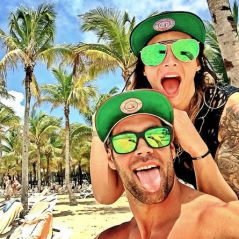 Emilie Nef Naf en vacances au Mexique avec son nouveau petit ami Bruno Cerella 💕