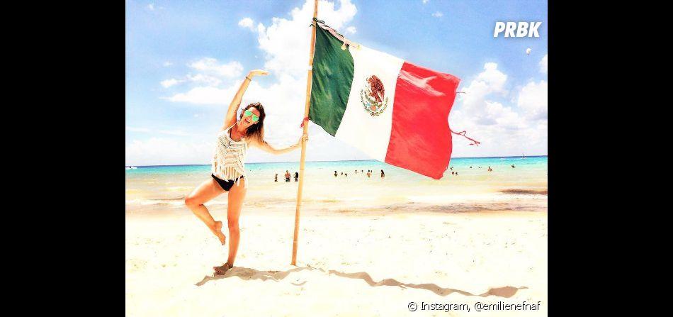 Emilie Nef Naf fière d'être au Mexique
