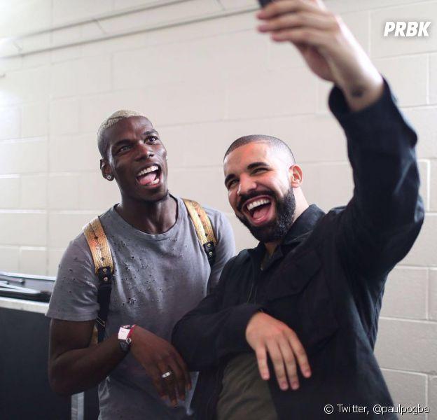 Drake immortalise sa rencontre avec Paul Pogba à New York
