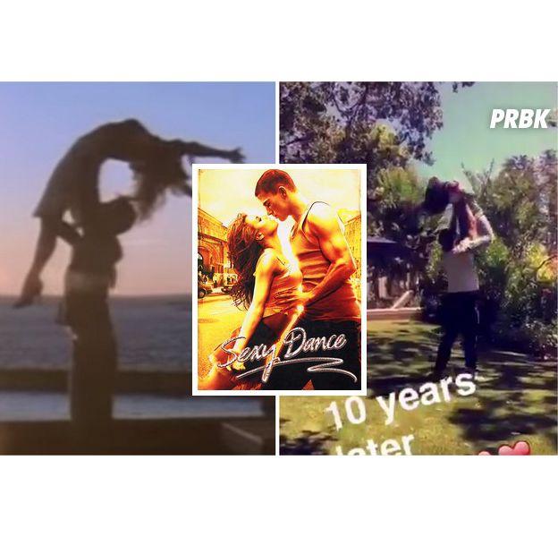 Channing Tatum et Jenna Dewan Tatum reproduisent la chorégraphie de Sexy Dance sur Twitter