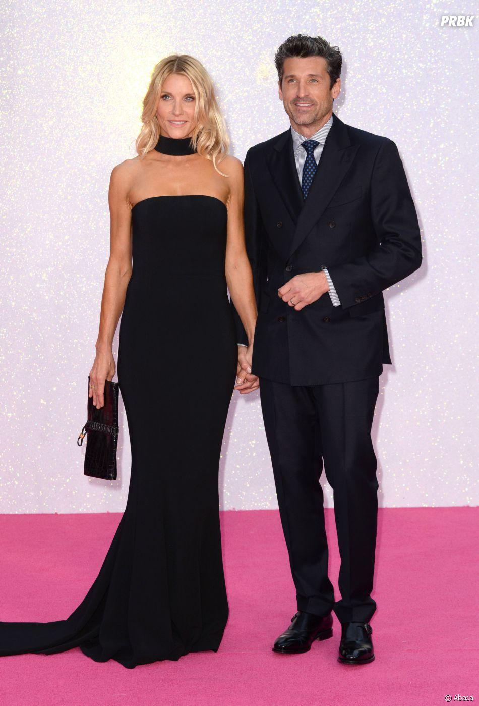 Patrick Dempsey et sa femme Jillian à l'avant-première de Bridget Jones Baby le 5 septembre 2016 à Londres