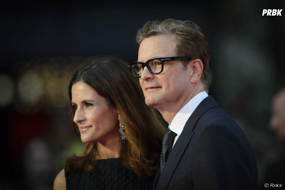 Colin Firth et sa femme Livia à l'avant-première de Bridget Jones Baby le 5 septembre 2016 à Londres