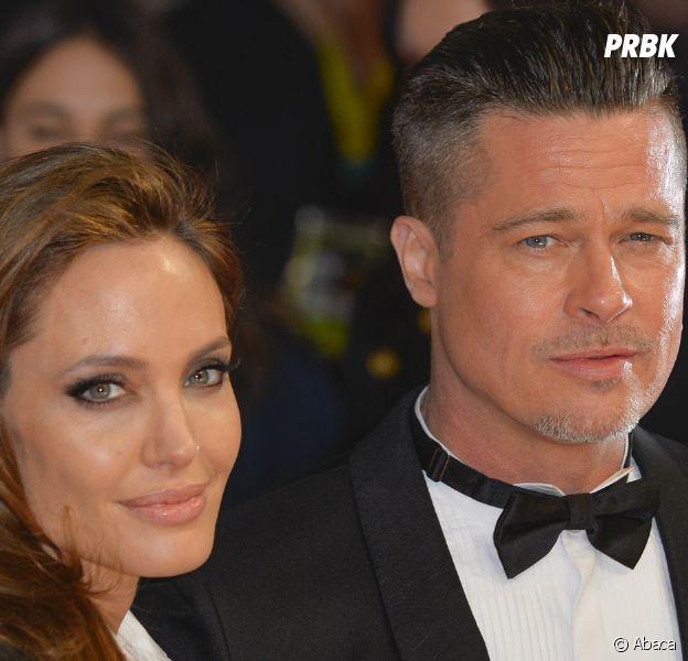 """Brad Pitt et Angelina Jolie divorcent, elle l'aurait accusé d'être drogué et alcoolique, il serait """"furieux""""."""