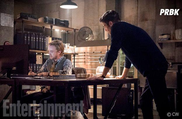 The Flash saison 3 : Tom Felton se dévoile en images