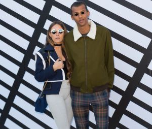 Stromae et sa femme Coralie, d'habitude discrets, se sont affichés complices à la PFW.