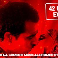 CONCOURS : 100 places pour aller voir la comédie Musicale Roméo & Juliette à Paris à gagner