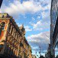 Nabilla Benattia et Thomas Vergara ont fait du shopping à Oxford Street à Londres, là où ils vivraient désormais.