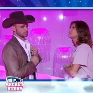 Bastien (Secret Story 10) et Mélanie refusent de se quitter, leur chantage amuse (et agace) Twitter