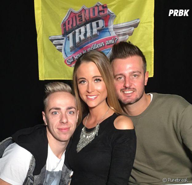 Geoff (Friends Trip 3), Sophie et Jérémy en interview pour PRBK