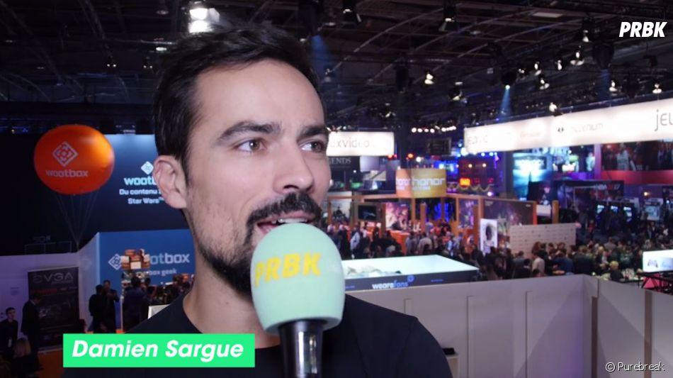 Damien Sargue en interview pour Purebreak à la Paris Games Week 2016