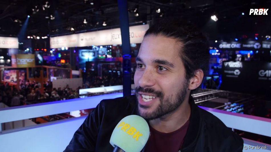 Jérémy Nadeau en interview pour Purebreak à la Paris Games Week 2016