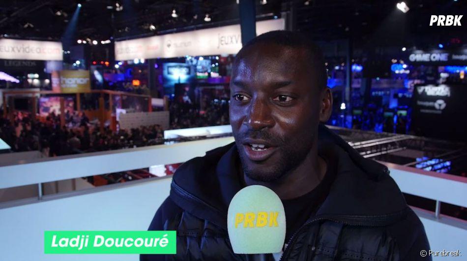 Ladji Doucouré en interview pour Purebreak à la Paris Games Week 2016