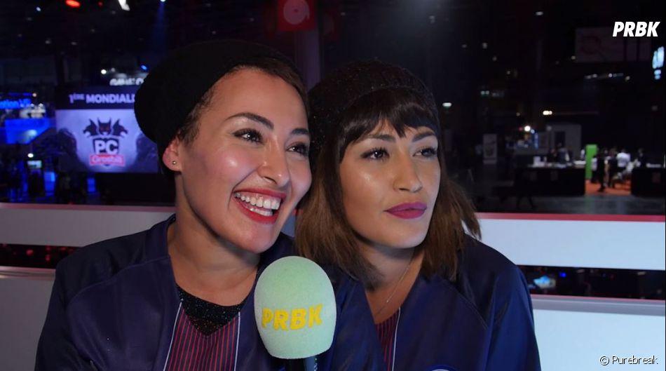 Hedia et Karima Charni en interview pour Purebreak à la Paris Games Week 2016