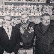 M. Pokora joue les commerçants au Marché de Noël de Strasbourg : papa peut être fier de son fiston