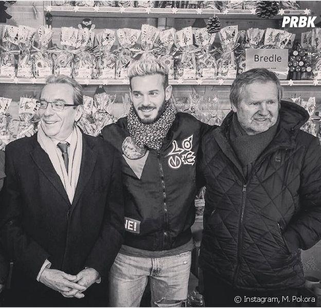 M. Pokora retrouve son père à Strasbourg en novembre 2016