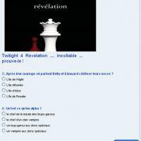 Twilight 4 Révélation ... es-tu un vrai fan ?