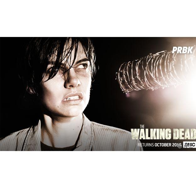 The Walking Dead saison 7 : Lauren Cohan sensible à la violence