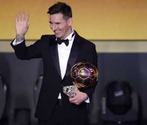 Lionel Messi récompensé du Ballon d'Or en 2015