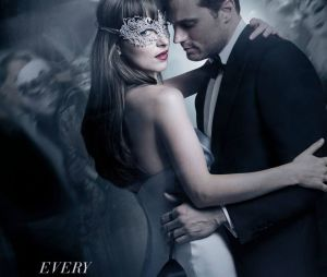 Fifty Shades Darker : la nouvelle affiche avec Jamie Dornan et Dakota Johnson