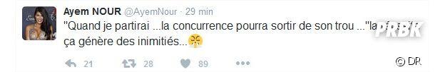Ayem Nour va-t-elle quitter le Mad Mag ? Son tweet sème le doute