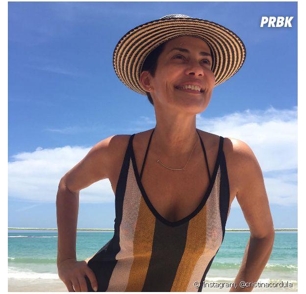 Cristina Cordula se dévoile sans maquillage sur Instagram