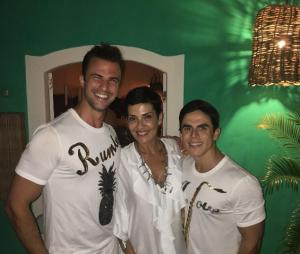 Cristina Cordula a passé le Nouvel An au Brésil