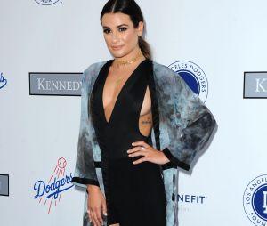 Lea Michele nue : elle joue la carte sexy en ce début d'année.
