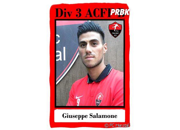 Les Anges 9 : Giuseppe Salamone est footballeur amateur au FC Herstal
