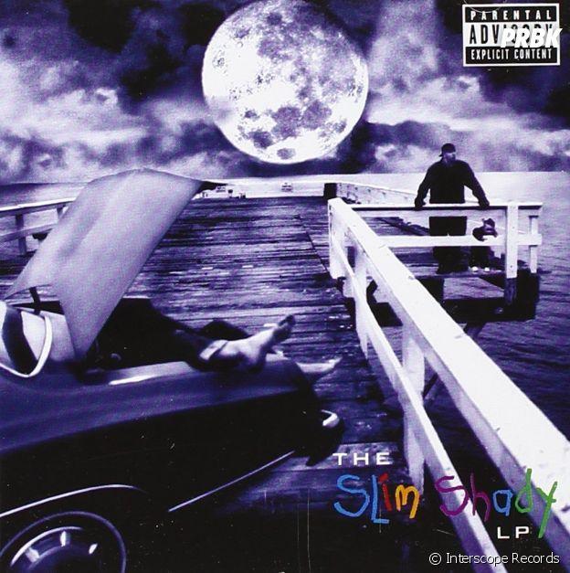 """Eminem : sa fille Hailie Jade Scott utilisée dans la chanson glauque """"'97 Bonnie & Clyde"""", qui devient la pochette de l'album """"The Slim Shady LP"""""""