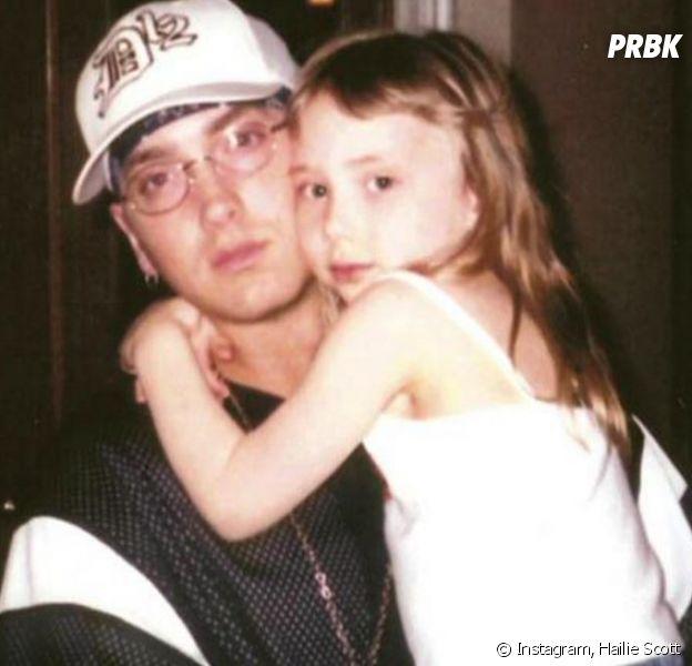 Hailie Scott et son père, Eminem