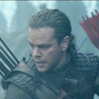 La Grande Muraille : Matt Damon affronte des monstres en Chine ! (bande-annonce)